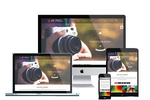 AT Pixel Onepage Joomla Template