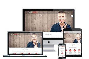 AT Profile Onepage Joomla Template