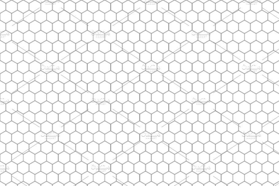 Hexagon grid photoshop