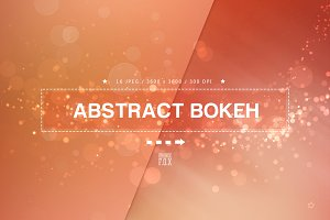 16 Abstract Bokeh Backgrounds
