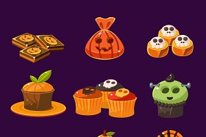 halloween sweets and candies