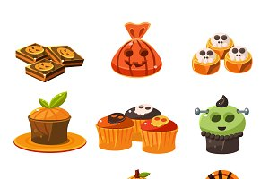 Colorful Halloween Sweets