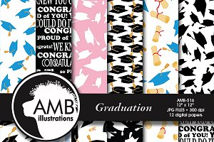 Graduation digital papers AMB-516