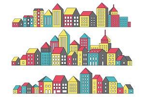 Linear urban landscape