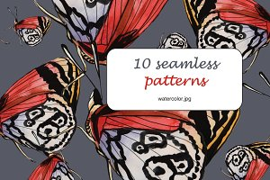 10 seamless patterns