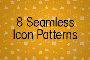 8 Seamless Icon Patterns