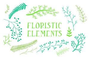 Floristic elements