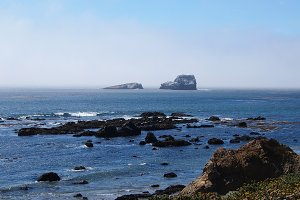 California Pacific Ocean View