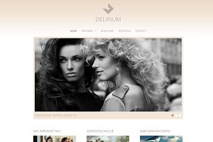 Delirium - Fashion Portfolio Theme