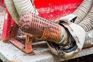 Suction hose filter