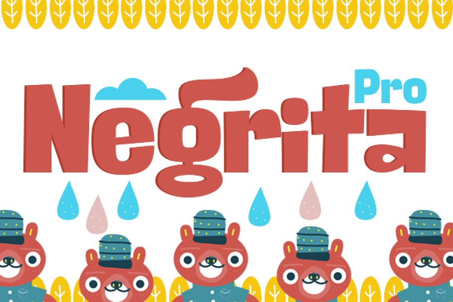 Negrita Pro+Cyrillic