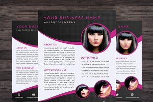 Flyer Template 002 for Photoshop
