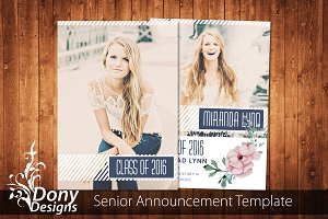 Senior Graduation Card -SE004