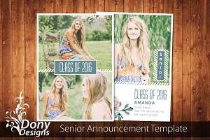 Senior Graduation Card -SE003