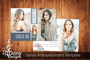 Senior Graduation Card -SE001