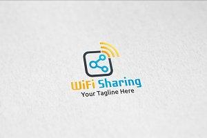 WiFi Sharing - Logo Template