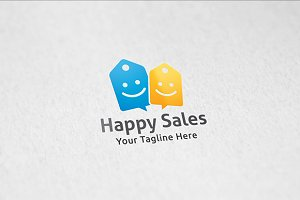 Happy Deals - Logo Template