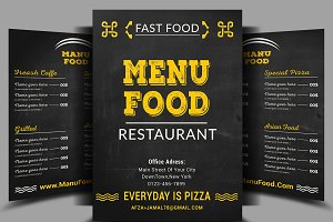 Food Menu & Flyer