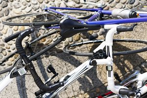 bikes for the triathlon race