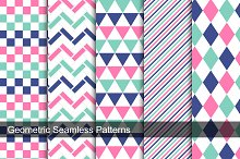 Collection of geometric swatches.