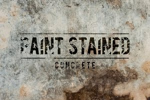 20 Stained Concrete Textures/Brushes
