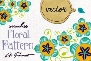 ♫ Funky ♥ Floral ♥ Pattern ♫