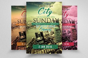City Revival Church Flyer