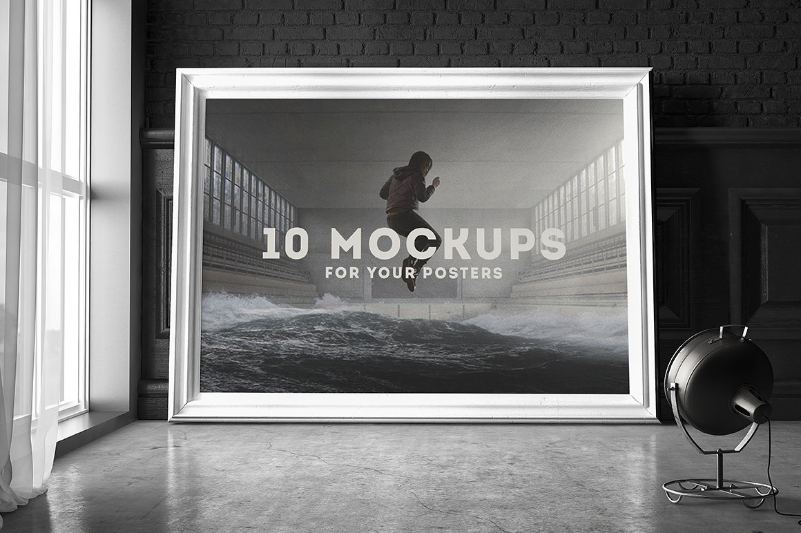 Poster Frame Mockup Set 2 ~ Product Mockups ~ Creative Market