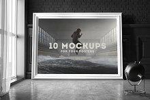 Poster Frame Mockup Set 2