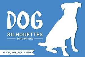 Dog Silhouettes for Crafters