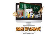 Back to school School supplies