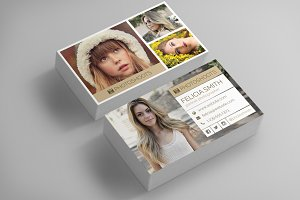 Photographer Business Card Template