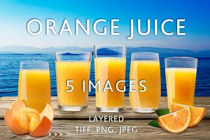 Orange Juice Highballs