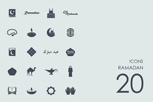 Ramadan icons