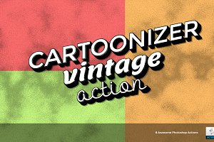 Cartoonizer - Photoshop Actions