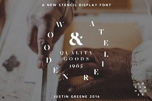 Wooden Atelier ~ Vintage Serif