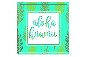 Tropical Hawaii Banner