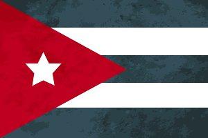 True proportions Cuba flag