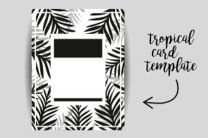 Tropical Poster Template