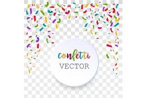 Vetor Confetti