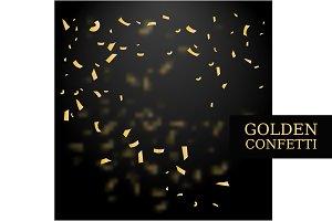 Golden Confetti Backdrop