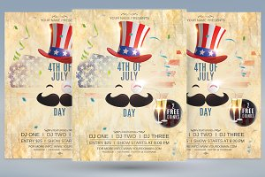 4th of July Day Flyer