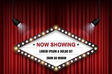 Theatre cinema Sign