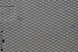 Diamond steel background