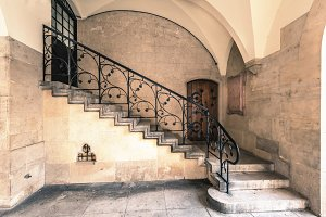 Stairs / castle