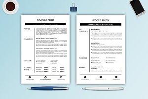 Professional Resume / CV -V023