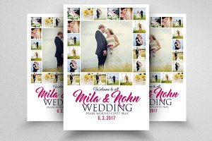 Elegant Wedding Flyer Template