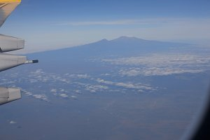 Aerial Of Mount Kilimanjaro