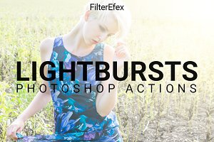 Lightbursts Photoshop Actions