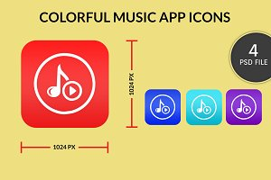 Music Application Icon